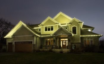 Full service holiday lighting